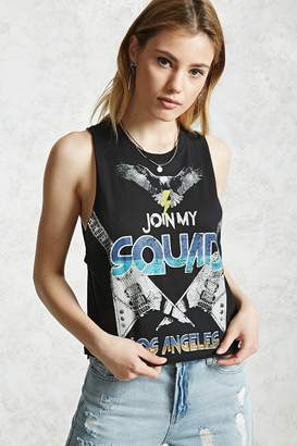 Forever 21 Join My Squad Muscle Tee