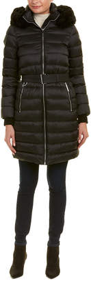 Burberry Limefield Down Puffer Coat
