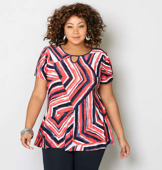 Avenue Abstract Lines Swing Top