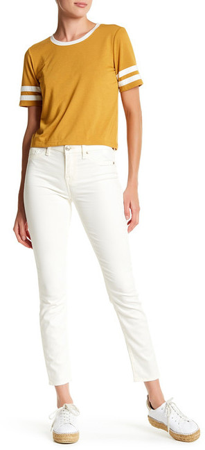 7 For All Mankind7 For All Mankind Sateen Ankle Skinny Jean