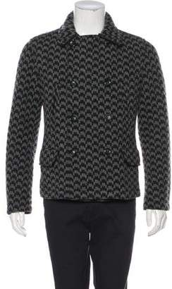 Dolce & Gabbana Wool Double-Breasted Coat