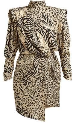 Dundas Gilded Print Dress - Womens - Multi