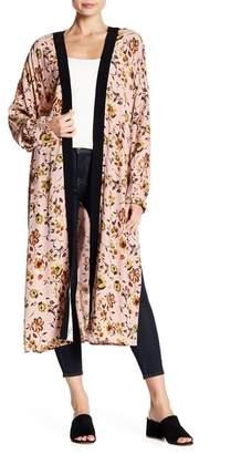 Sanctuary Floral Long Sleeve Kimono
