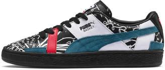 PUMA x SHANTELL MARTIN Basket Graphic Sneakers
