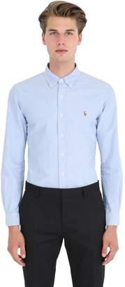 Polo Ralph Lauren Slim Fit Cotton Poplin Button Down Shirt