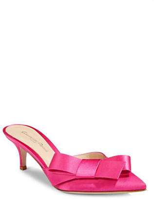 Gianvito Rossi Bow Slip-On Pumps