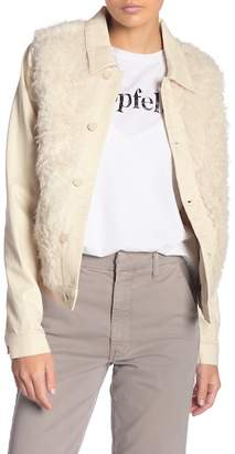 Mother Cabin Fever Faux Shearling Jacket