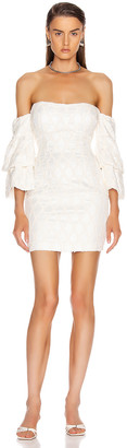 Theory Atoir New Dress in Ivory | FWRD
