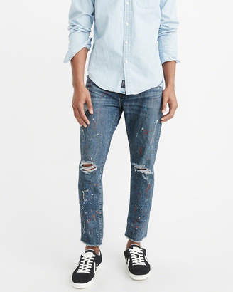 Abercrombie & Fitch Ripped Slim Jeans