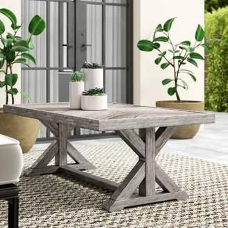 Greyleigh Farmersville Aluminum Coffee Table