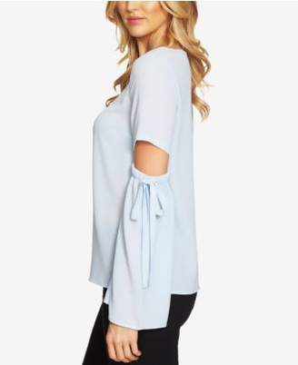 CeCe Cutout-Sleeve Blouse