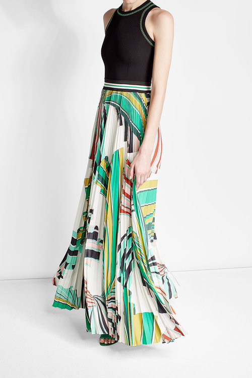Emilio PucciEmilio Pucci Dress with Printed Skirt