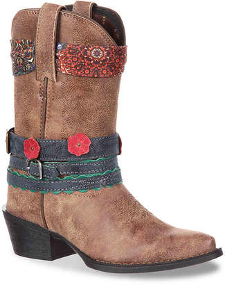 Durango Accessorize Western Toddler & Youth Cowboy Boot - Girl's