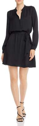 Joie Leonore Belted Faux-Wrap Dress