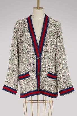 Gucci Crystal and tweed jacket