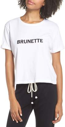 BRUNETTE the Label Brunette Crop Tee