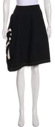 Peachoo+Krejberg Ruffled Knee-Length Skirt