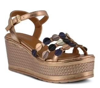Spring Step Patrizia By Opal Wedge Sandal