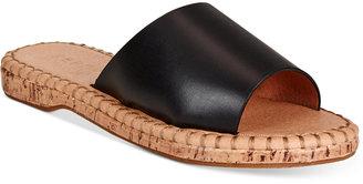 Report Farrel Cork Slide Sandals Women's Shoes $40 thestylecure.com