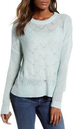 BP Pointelle Stitch Sweater