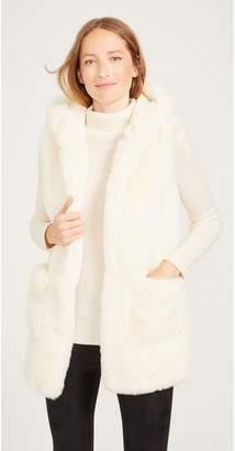 J.Mclaughlin Vail Faux Fur Vest
