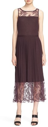 Tracy Reese Lace Inset Jersey Dress $328 thestylecure.com