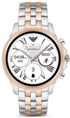 Emporio Armani Armani Two-Tone Stainless Steel Smartwatch, 46mm