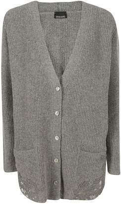 Ermanno Scervino Lace Detail Cardigan