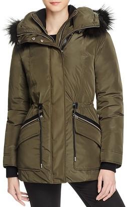 Mackage Katryn Fur Trim Hooded Short Down Coat $790 thestylecure.com