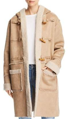 Sage the Label Now or Never Hooded Toggle Coat