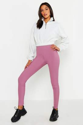 boohoo Tall Rib Leggings