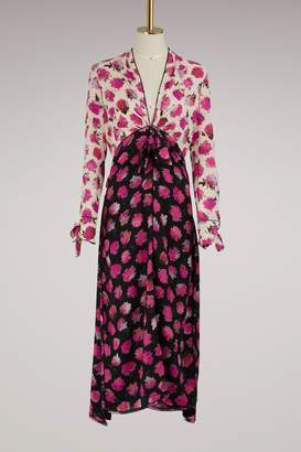 Proenza Schouler Silk printed long dress