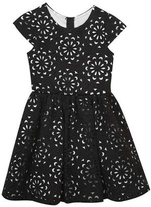 Rare Editions Textured Black Dress $110 thestylecure.com
