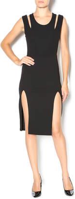Caribbean Queen Black Dress