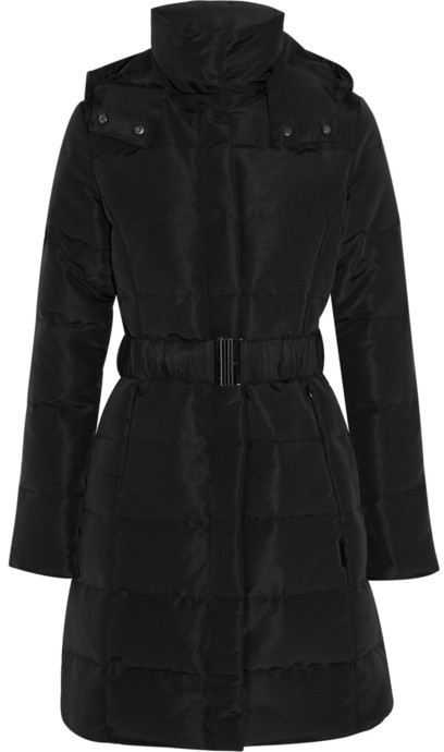 Calvin Klein Collection Sade quilted shell coat