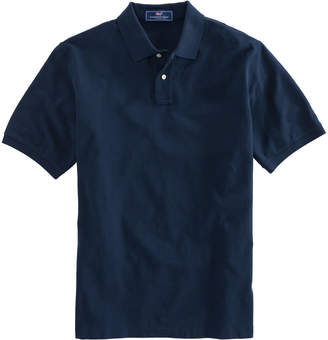 Vineyard Vines Mens Stretch Pique Polo