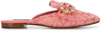 Dolce & Gabbana Jackie flat mules