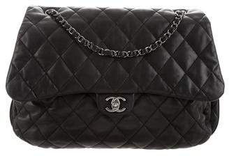 Chanel Maxi 3 Accordion Flap Bag