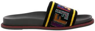 Fendi Flat Sandals Shoes Women