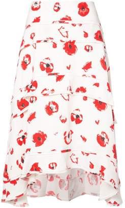 Proenza Schouler Tiered Skirt