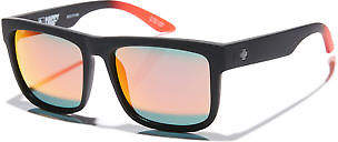 SPY New Men's Discord Happy Lens Sunglasses Soft 100% Uv Protection Black