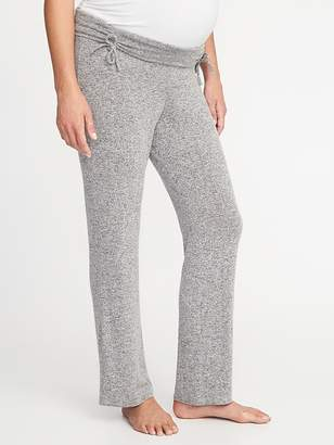 Old Navy Maternity Luxe Cinched-Waist Lounge Pants
