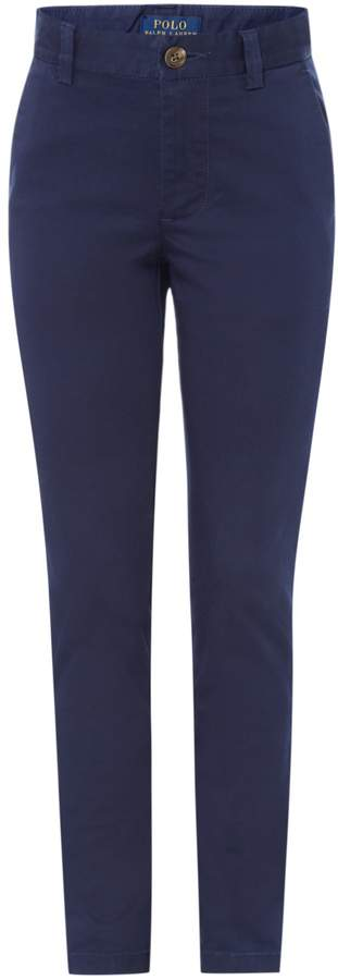 Boys Small Pony Chino Trouser
