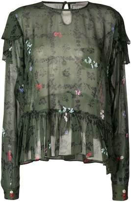Preen Line Bryoni floral printed top
