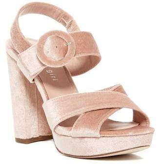 Madden-Girl Slickk Crisscross Platform Sandal