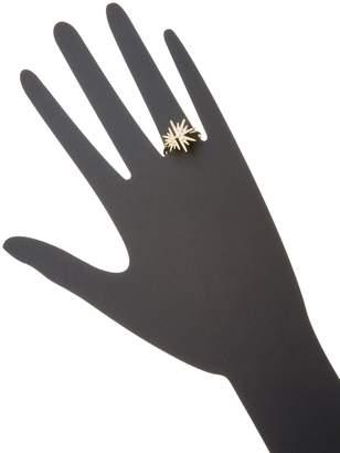 Artisan Lovely Star 14K Yellow Gold & Diamond Ring