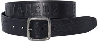 DSQUARED2 40mm Scout Leather Belt