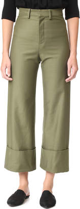 Sea Cuffed Pants $355 thestylecure.com