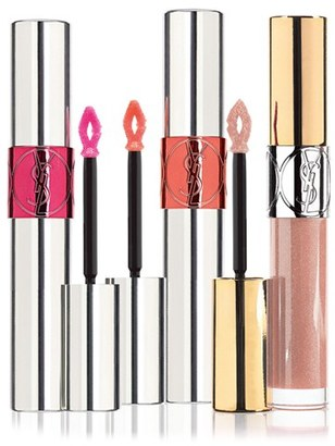 Yves Saint Laurent 'Volupte' Lip Gloss Trio - No Color $64 thestylecure.com