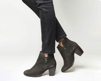Office Justine Double Zip Boots